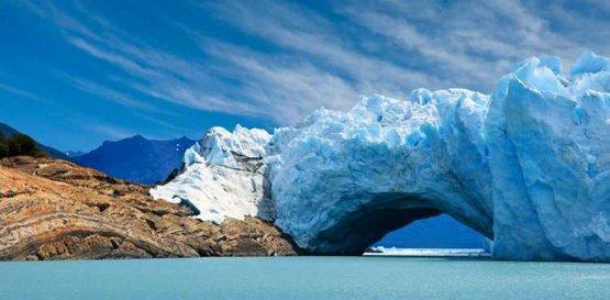 Знаменитый ледник в Патагонии - Перито-Морено
