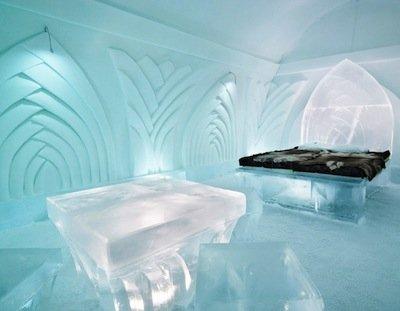 Ледяной отель Снежной Королевы